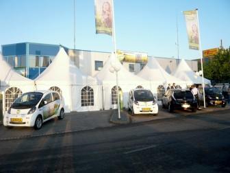 elektrische auto's, Prestige GreenCab, oplaadstation