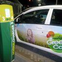 snellader, snellaadpaal, elektrische auto, taxi, GreenCab
