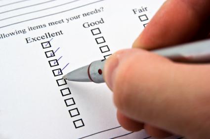 onderzoek, vragenlijst, klanttevredenheid