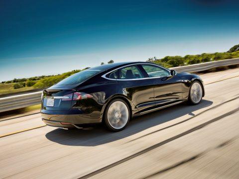 Tesla Model S, electrische auto