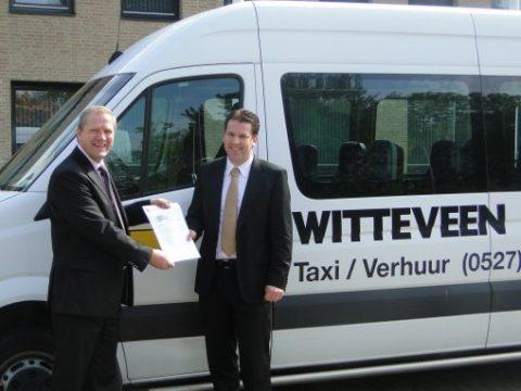 Witteveen, taxicentrale, Urk, leerlingenvervoer, aanbesteding