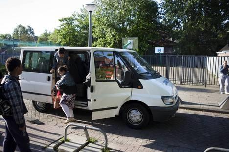 leerlingenvervoer, schooltaxi, taxibus, taxi