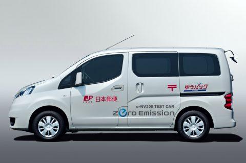 Nissan Start Praktijktests Elektrische Taxibus Nv200 Taxipro