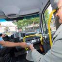 regiotaxi, taxichauffeur, passagier, deeltaxi