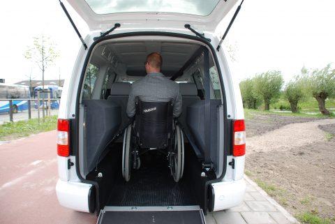 rolstoelauto, tribus, taxi