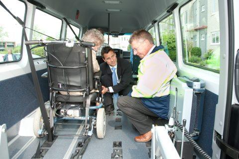 rolstoeltaxi, inspectie, verkeer en waterstaat, taxichauffeur, rolstoelbus, rolstoelvastzetsysteem