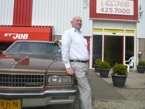 Rinus Schaaf, St Job, taxicentrale, Rotterdam