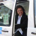 Yvonne Botterhuis, pictokaart, taxibus, leerlingenvervoer