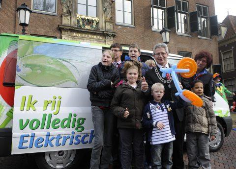 elektrische taxi, Kijlstra, Leeuwarden