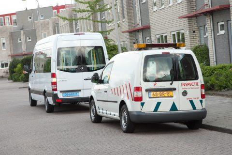 Inspectie Verkeer en Waterstaat, IVW, controle, taxi, taxibus