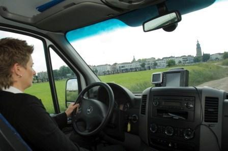 regiotaxi, taxibus, taxichauffeur