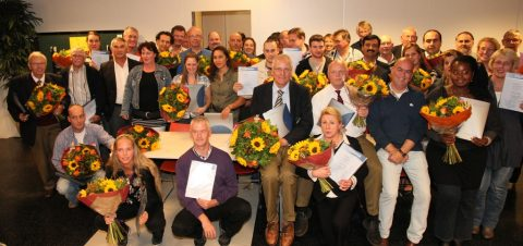 Diploma, uitreiking, mbo-taxichauffeur, Bestax