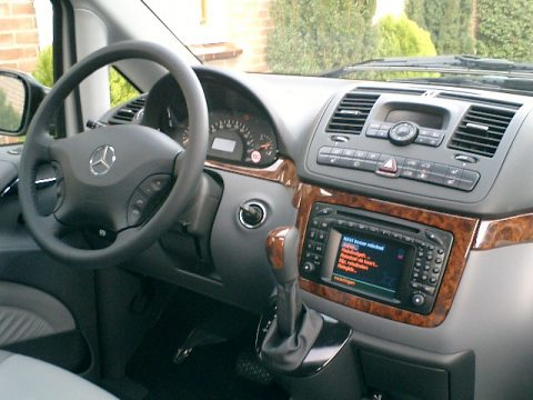 Mercedes-Benz, Interieur