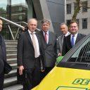 Week van de Veiligheid, Taxibranche,Ton Jonker (RTC); Ad Toet (KNV); Ivo Opstelten (ministerie van Veiligheid); Ahmed Aboutaleb (voorzitter landelijke Taskforce Overvalcriminaliteit); Hans Biesheuvel (MKB)