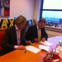 Joachim Kaarsgaren en Stef Hesselink, CEO BIOS-Groep