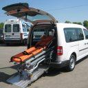 Ligtaxi, Kemperink Ombouw, Volkswagen Caddy