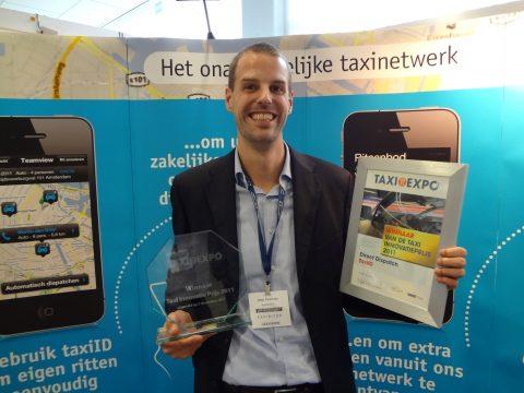 taxiID, Jaap Koeman, TIP, Taxi Innovatie Prijs