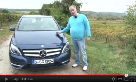 Mercedes-Benz, rijtest