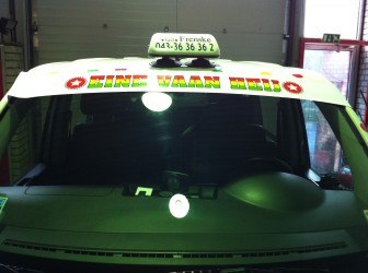 carnaval, taxi, maastricht, sticker