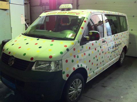 carnaval, taxi, maastricht, sticker, Frenske