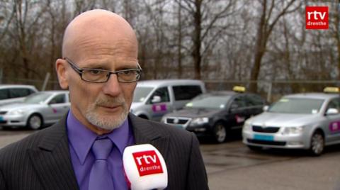 directeur Bert Jakobs, VMNN, taxibedrijf