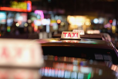 taxibord, daklicht, België