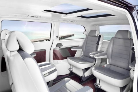 Mercedes-Benz, Viiano, Pearl, luxe bus, interieur