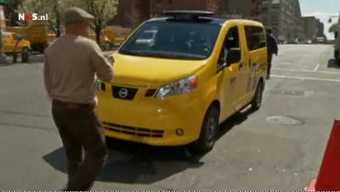 New York, Yellow Cab, Nissan, prototype