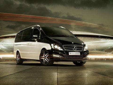 Mercedes-Benz, Viano, Daimond, luxe taxibus