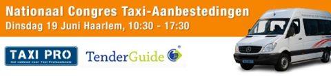 Nationaal Congres Taxi Aanbestedingen, TaxiPro, TenderGuide