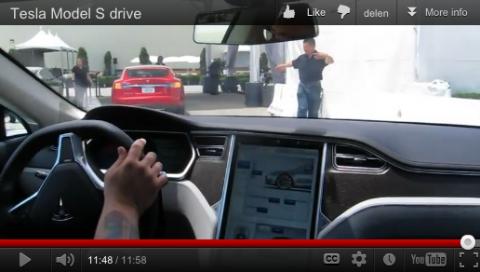 rijtest, Tesla, Model S, elektrische auto