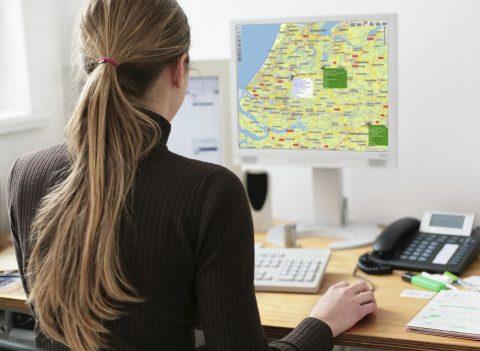 track-en-trace, centrale, voertuigvolgsysteem, RAM Mobile Data