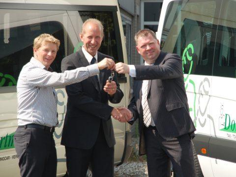 Tribus, rolstoelbus, Taxi Dortmans, Sjoerd van der Woude, Maarten Dortmans, Rico van de Laar