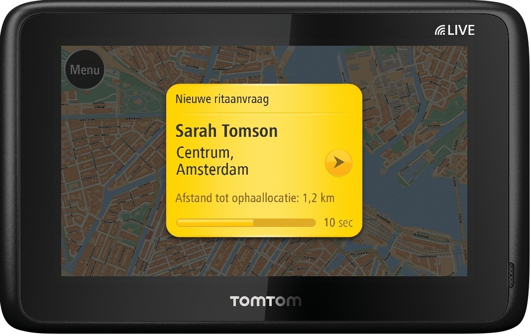 TomTom Taxi Assistant