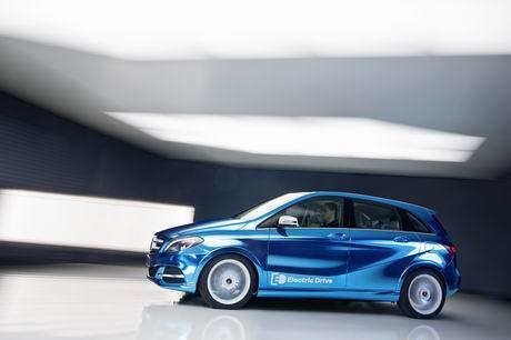 Mercedes-Benz, B-Klasse, elektrisch