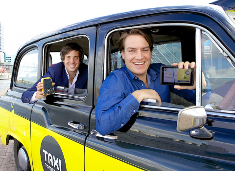 tomtom, taxi, steven otto, bestelzuil, taxi assistent, taxi butler