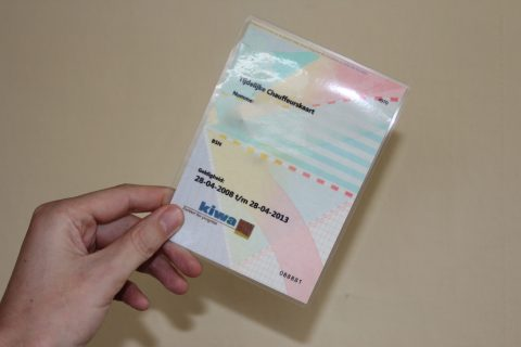 tijdelijke, taxipas, Chauffeurskaart, BCT, Kiwa