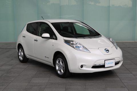 Nissan, Leaf, elektrische auto