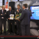 Uitreiking, Taxi Innovatie Prijs, 2012, Taxi Expo, Joop Atsma