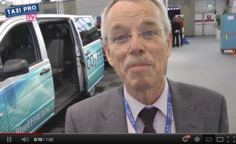 Duco Douwstra, fietspompzuil, werkmap, taxi, taxi-ondernemer, Taxi Expo