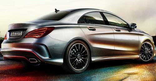 Mercedes-Benz, CLA, A-Klasse, sedan