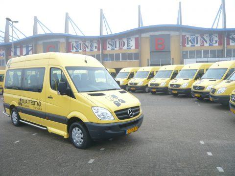 Quattrotax, Tilburg, taxibedrijf