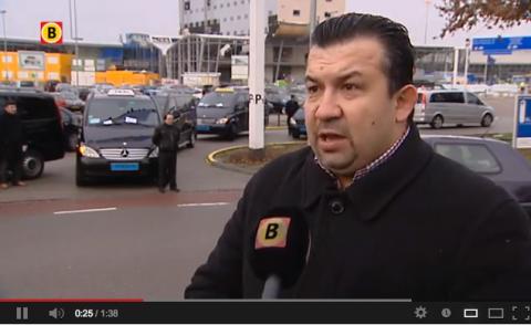 taxichauffeur, Eindhoven Airport