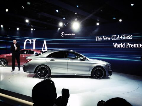 Mercedes-Benz, CLA, A-Klasse sedan
