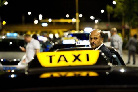 straattaxi, taxi, taxichauffeur