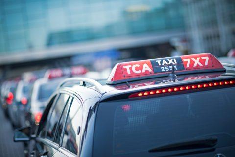 TCA, taxi's, Taxi Centrale Amsterdam
