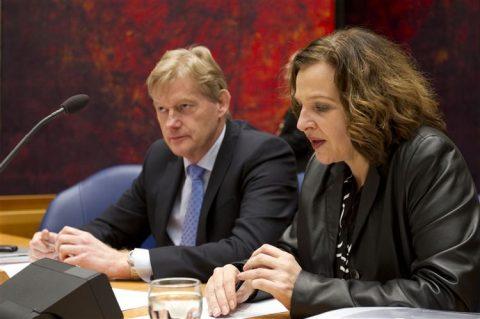Staatssecretaris Martijn van Rijn, minister Edith Schippers, VWS