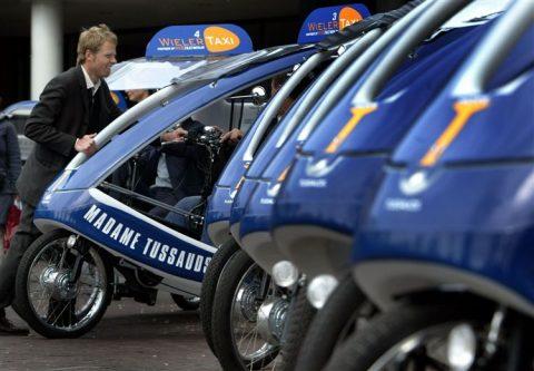 fietstaxi, amsterdam
