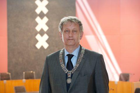 Eberhard van der Laan, burgemeester, Amsterdam