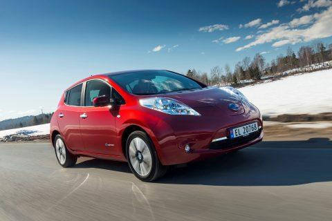 Nissan Leaf, elektrische auto, nieuw